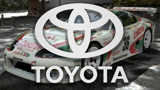 NO TOYOTA IN RACING GAMES?