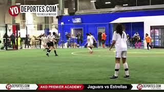 Jaguars vs Estrellas AKD Premier Academy Soccer League
