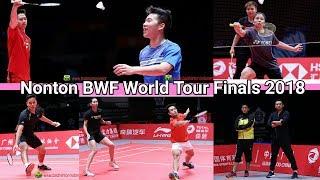 INFO! Cara Nonton Kevin Marcus dkk BWF World Tour Finals 2018