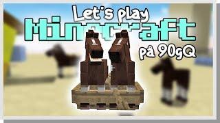LP Minecraft på 90gQ #45 - HÄSTAR I BÅTAR!