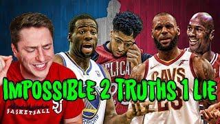 THE HARDEST NBA 2 TRUTHS 1 LIE QUIZ!