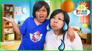 Why Do We Cry??? | Educational for Kids with Ryan ToysReview