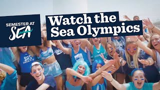 Watch the 2019 Spring Sea Olympics on Semester at Sea