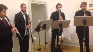 Star Wars Cantina Band - Clarino Royal Clarinet Quartet