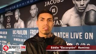 Eddie Ramirez con veneno fresco para Jerome Rodriguez este 24 de abril el Chicago