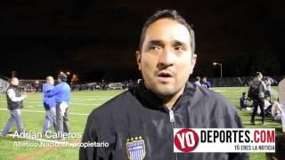 Adrián Calleros dueño del Atlético Nacional campeones 2014 de CLASA Chicago