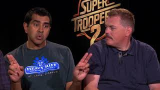 Super Troopers 2 Interview With The Cast