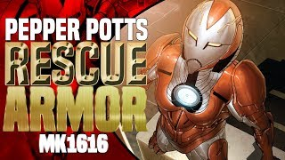 Pepper Potts Rescue Armor: Why Tony Made It To Protect Pepper And Resurrect Himself ( Mk1616 )