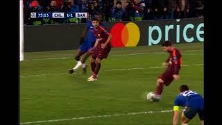 Gol de Messi, el primero de su carrera al Chelsea