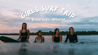 Mentawais Girl's Boat Surf Trip | a day in my life