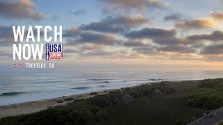 Watch Live: Final's Day, USA Surfing Champs