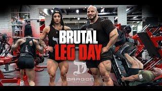 Big Ramy & Bakhar Nabieva | Brutal Leg Day