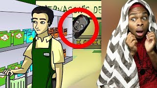 Reacting To True Story Scary Animations (Do Not Watch Before Bed)