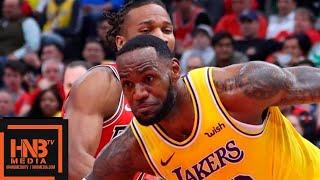 Los Angeles Lakers vs Chicago Bulls Full Game Highlights   March 12, 2018-19 NBA Season