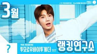 [랭킹연구소] 2019년 3월 보이그룹 순위 (남자아이돌 브랜드)   K-POP IDOL Boy Group Chart (March Brand)