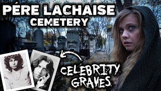 FAMOUS GRAVES and Ghost Stories | Père Lachaise Cemetery, Paris France