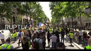 LIVE: Yellow Vests protest for 31st straight week in Paris