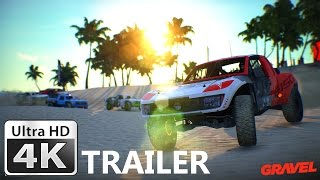 Gravel Announcement Trailer 4K : Unreal Engine 4 Off-Road Racing Game