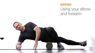 Wellness Wednesday: Use a foam roller to run or cycle safely