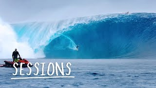 Is this the biggest swell ever surfed at Cloudbreak? | Sessions