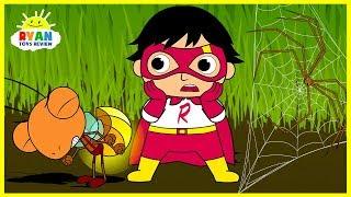 Ryan Shrinks in Bugs World  Cartoon Animation for Children!