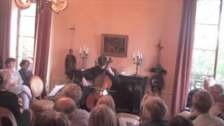 J. S. Bach, Suite for solo cello E-flat major BWV, Victor Garcia (cello)