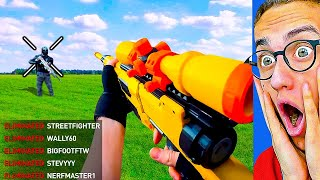 INSANE NERF GAMES in REAL LIFE!