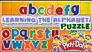 Learning the Alphabet through a Puzzle Game playset