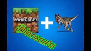 Download Minecraft Pocket Edition Dinosaur Addon Pack Clip