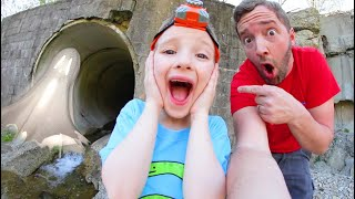 FATHER SON ADVENTURE TIME! / Haunted Sewer!