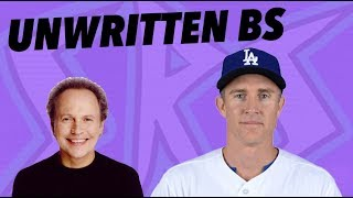 BASEBALL'S DUMBEST UNWRITTEN RULES - FEAT. SRS MIKE