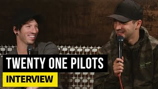 Twenty One Pilots on the Raptors, stage production and Justin Bieber's dodgeball skills