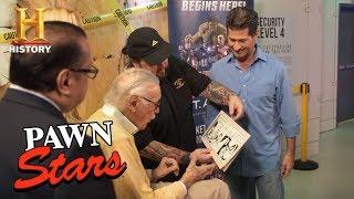 Pawn Stars: Stan Lee Meets Chumlee (Season 14)   History