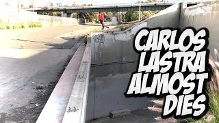 CARLOS LASTRA ALMOST DIES TWICE !!! - A DAY WITH NKA