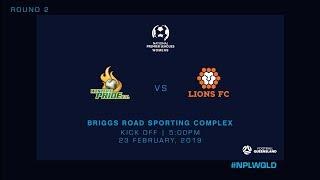 NPLW R2 - Western Pride vs Lions FC