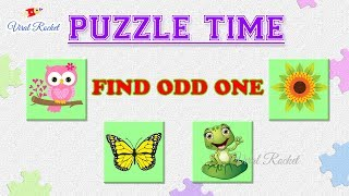 Puzzles for Genius Minds : Find the Odd One Out || Puzzle Time # 1 || Tricky Puzzles, Puzzle Games