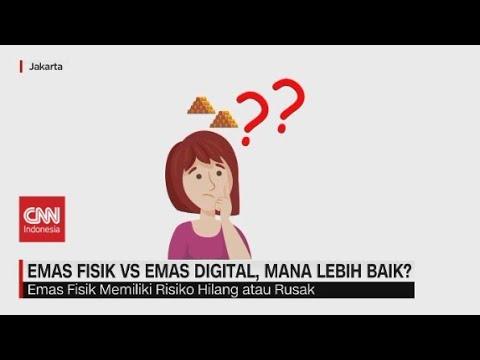 Emas Fisik vs Emas Digital, Mana Lebih Baik