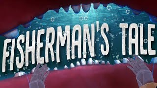 Eaten By A Giant Fish in Deadly Sea Storms! - A Fisherman's Tale Part 1 (HTC Vive)