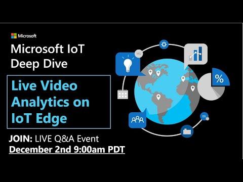 Deep Dive: Live Video Analytics on the Edge