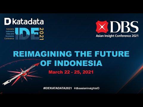 Katadata Indonesia Data and Economic Conference IDE2021 - Monday, March 22, 2021