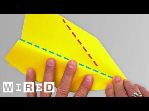 How to Fold the 'Phoenix' Paper Airplane | WIRED