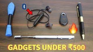 Unique Gadgets Under Rs500 | Part 15 | Tech Unboxing 🔥