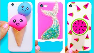 3 DIY STRESS RELIEVER PHONE CASES | Easy & Cute Phone Projects & iPhone Hacks