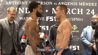 LAMONT PETERSON VS SERGEY LIPINETS - FULL WEIGH IN & FACE OFF