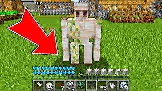 Minecraft - HOW to play VILLAGER GOLEM in Minecraft: NOOB GOLEM vs PRO ZOMBIE! Animation NOOB VS PRO