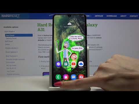 How to Enable Windowed Mode in Samsung Galaxy A31 - Open Apps in Pop Up View