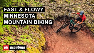 Riding Two of Minnesota's Best Mountain Bike Trail Areas