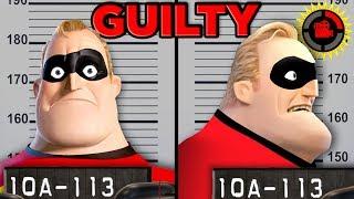 Film Theory: Can You SUE a Superhero? (Disney Pixar's The Incredibles)