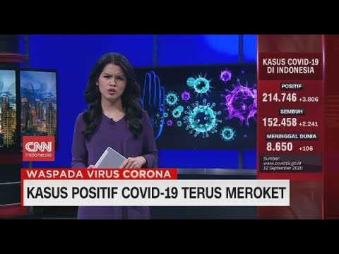 Bertambah 3.806, Kasus Positif Covid-19 Terus Meroket