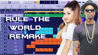 How 2 Chainz - Rule The World feat. Ariana Grande Was Made Instrumental Remake (Production Tutorial)